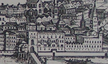 Burg als Zeughaus; Merian Archontologia Cosmica; 1649